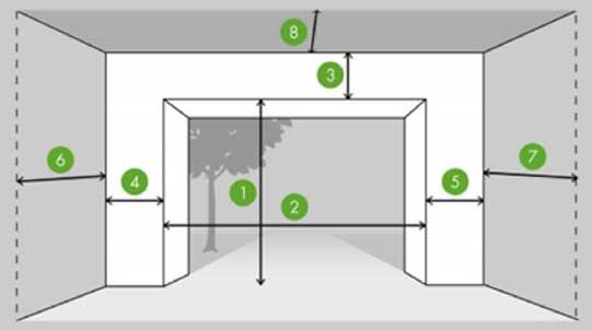 garage door type selection