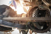 truck suspension parts names