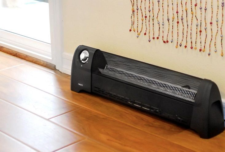 42 in electric baseboard heater sears portable electric for Convector mural