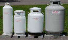 dyna-glo tank top propane heater