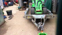 loader bucket receiver hitch