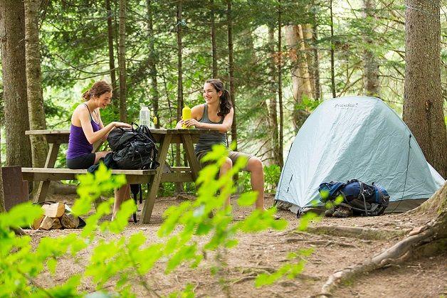 camping stuff preparation