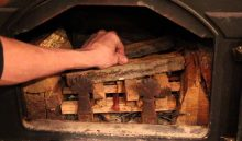 how to start a fire with wood