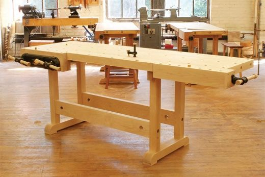 Ultimate Woodworking Workbench Plans