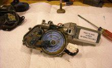 windshield wiper motor repair