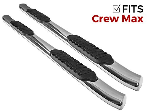 Ionic Pro Series 5u2033 Stainless Curved Nerf Bars