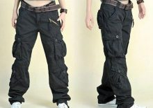women's cargo pants with pockets