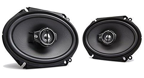best car speakers - Kenwood KFC-C6895PS 6x8-Inch Oval Custom Fit 3-Way Speaker