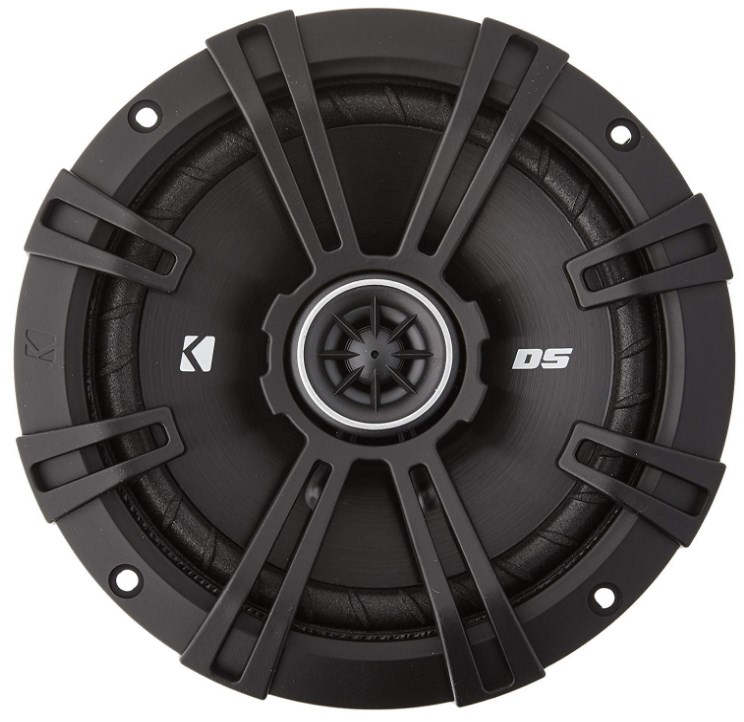 best car speakers - Kicker 43DSC6504 6.5-Inch 240 Watt 2-Way 4-Ohm Car Audio Coaxial Speakers DSC6504