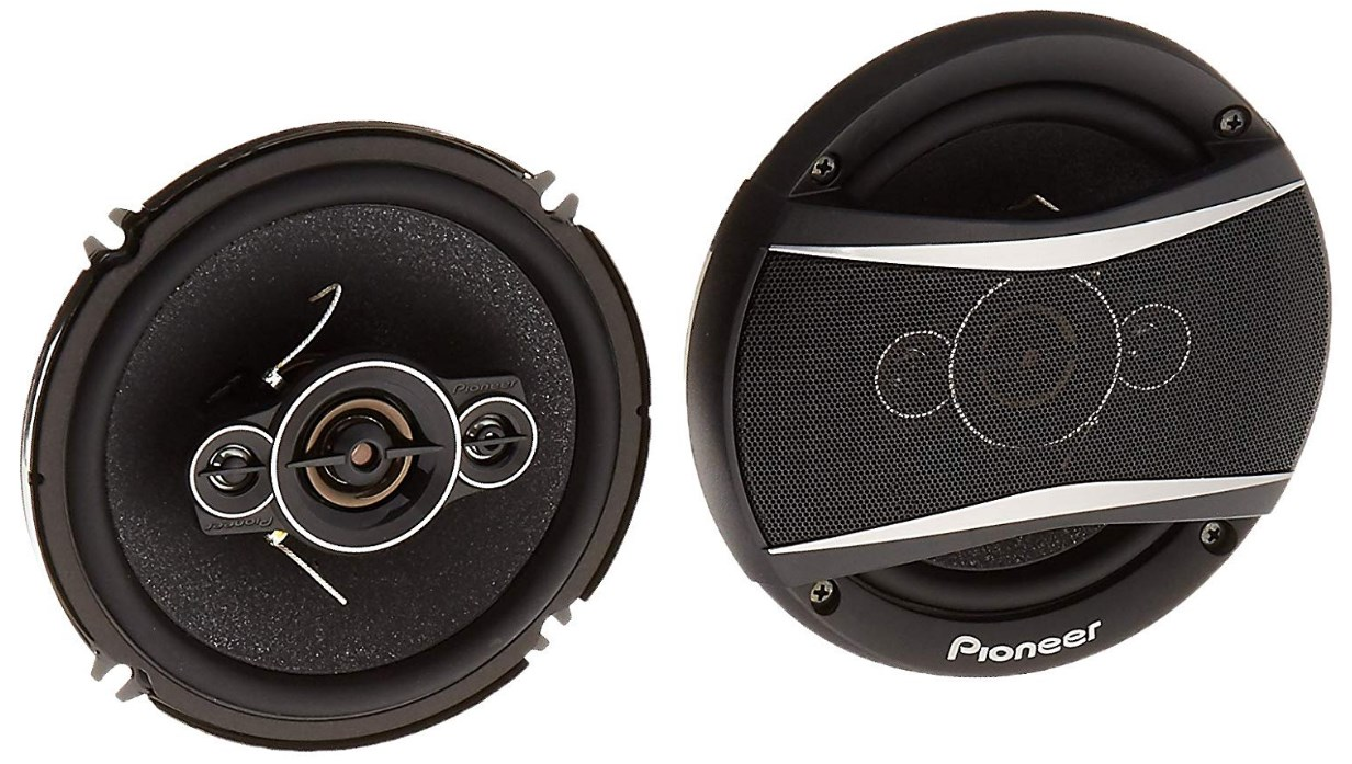 best car speakers - Pioneer TS-A1686R A-Series 6.5-Inch 350-Watt 4-Way Speakers