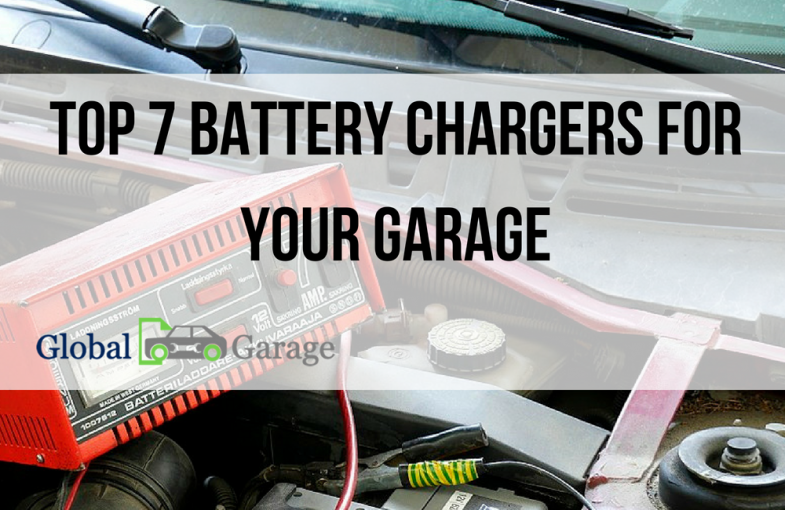 Top 7 Best Battery Charger for Your Garage