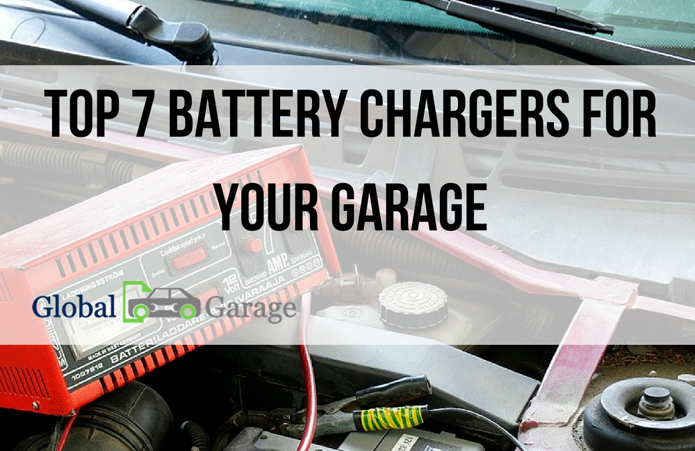 Top 7 Battery Chargers for Your Garage