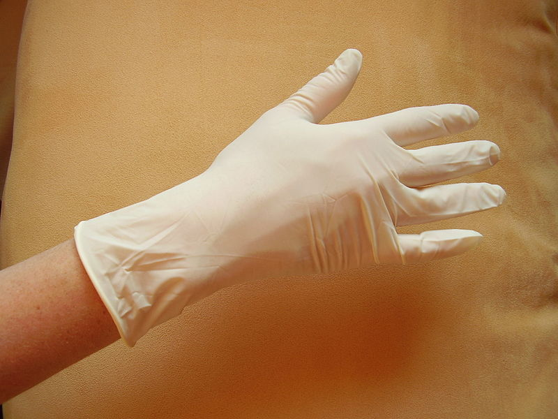 disposable gloves as part of the ultimate auto mechanic tools list