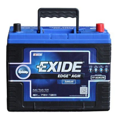 exide car battery review. Exide Edge FP-AGM24F Flat Plate AGM Sealed Automotive Battery