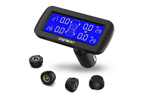 CAGAGOO Wireless Tire Pressure Management System Best Tire Pressure Gauge