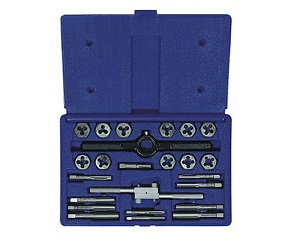 Irwin Tools 24614 Fractional Tap and Hex Die Set is the best tap and die set