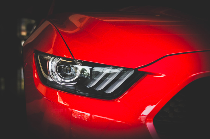 guide to car maintenance: red car light