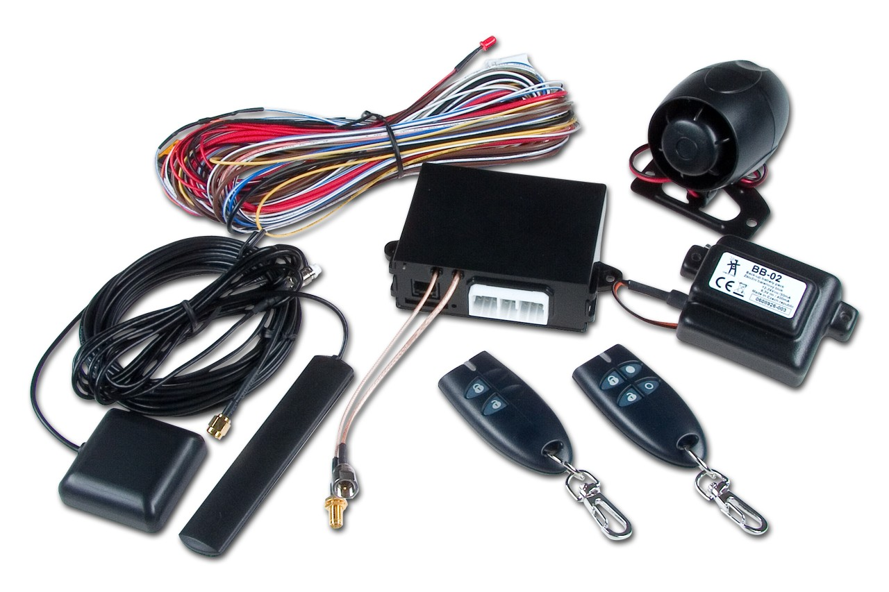 car alarm installation materials